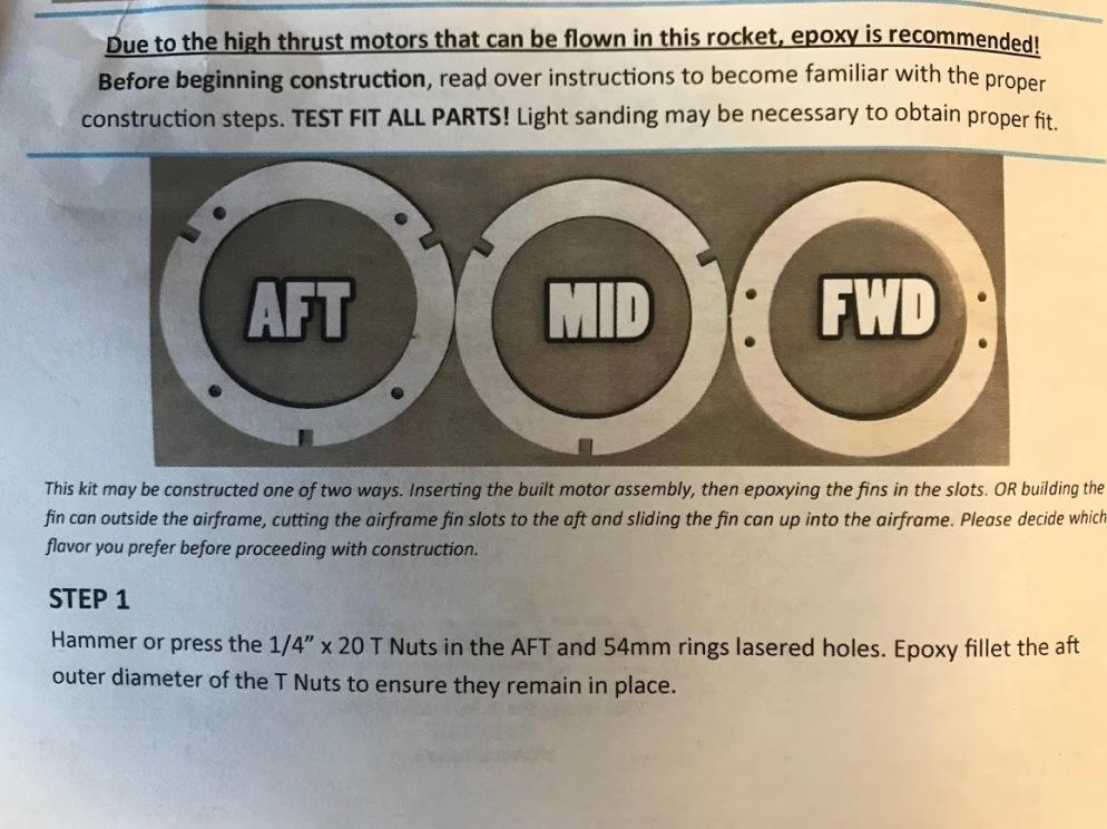 MMAS LOC Step 1 Instructions
