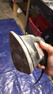 Palm Sander from Harbor Freight